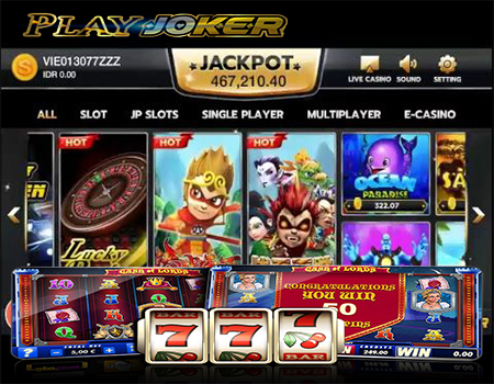 Web Gaming Joker123 Judi Slot Online Indonesia 2019